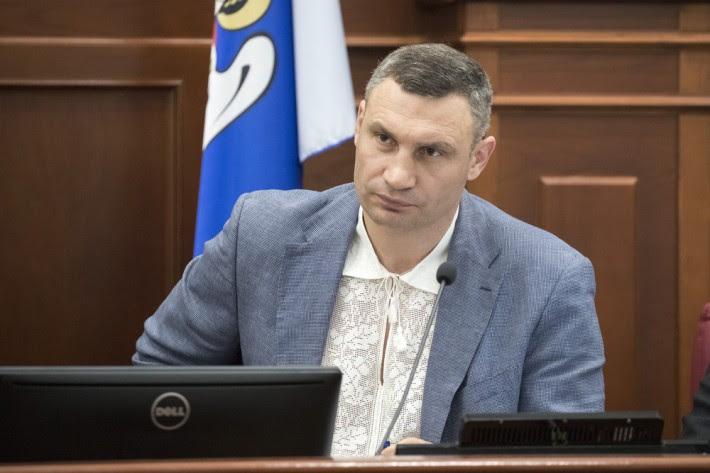 Віталій Кличко в вишиванці