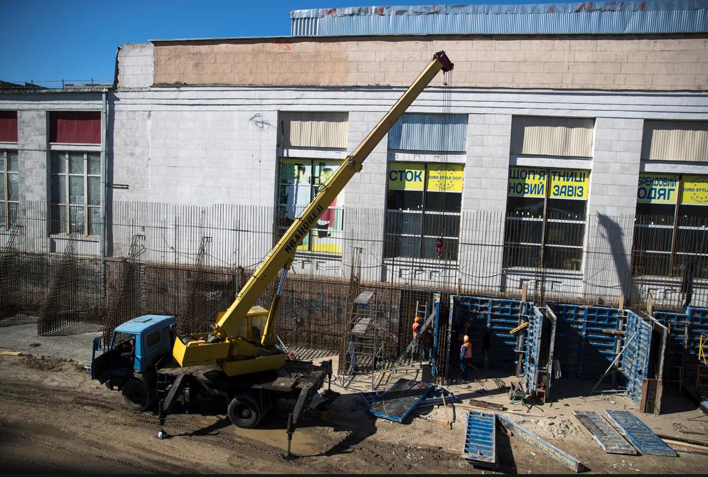 Кличко пообещал запустить движение транспорта по Шулявскому мосту в декабре 03