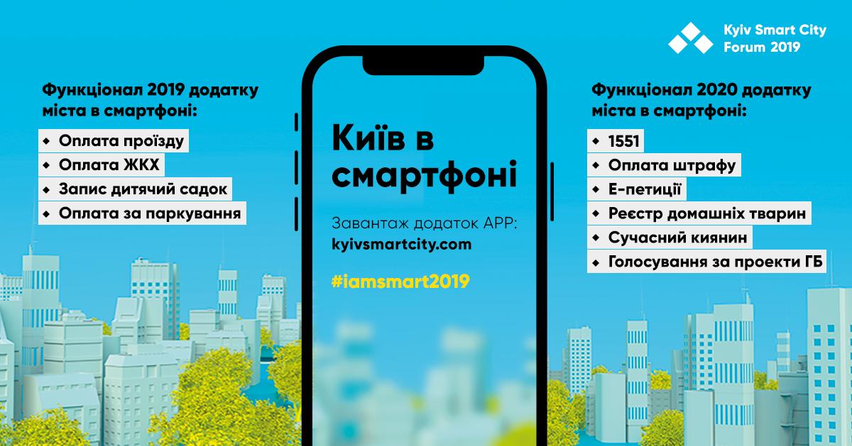 В приложении Kyiv Smart City появилась возможность оплаты коммунальных услуг 01